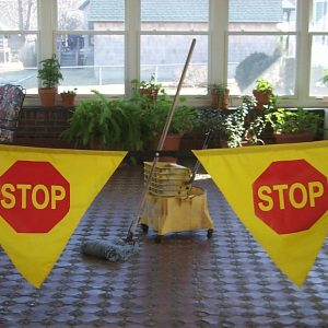 Adjustable Stop Banner