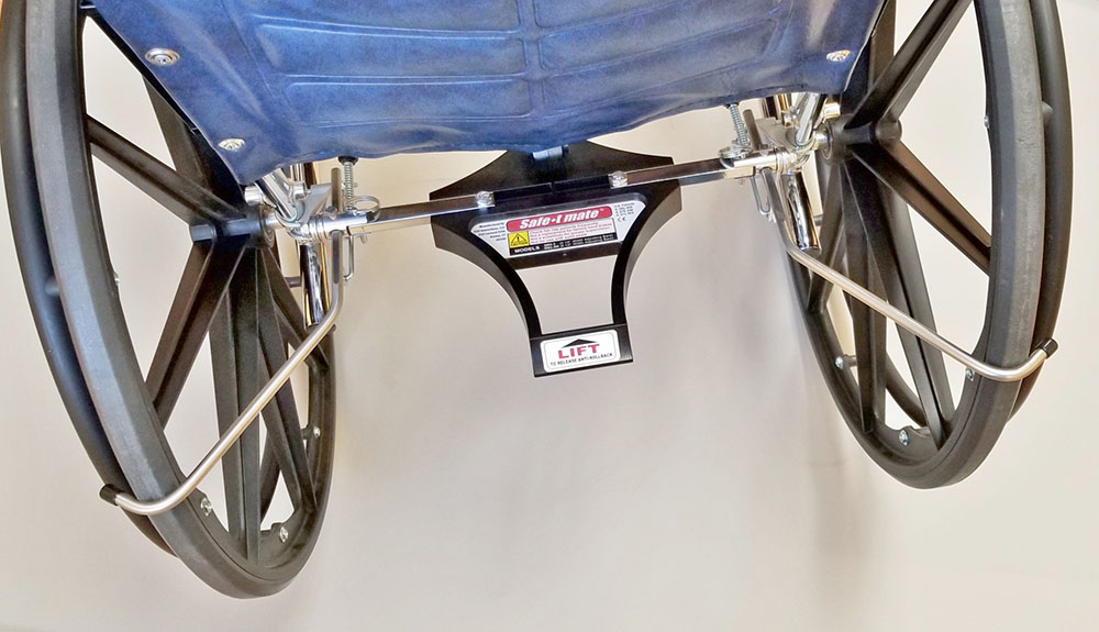 Sm2 3 Wheelchair Anti Rollback Device Safe T Mate